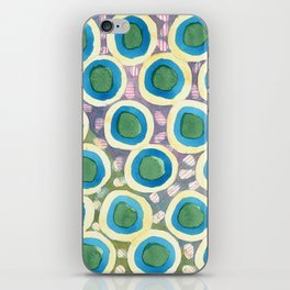 Four Directions beneath Circles Pattern iPhone Skin
