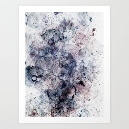 Abstract Artwork Colourful #12 Art Print