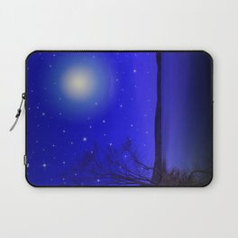 Moon and Stars Landscape Laptop Sleeve
