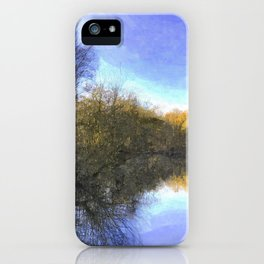 English Pond Art iPhone Case