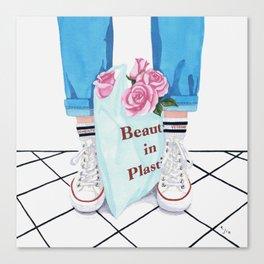 _Beauty in Plastic Bag Canvas Print