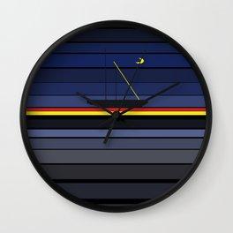 sailing through the night Wall Clock