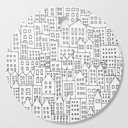 Coit City Pattern 1 Cutting Board