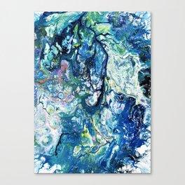 Crazing Canvas Print