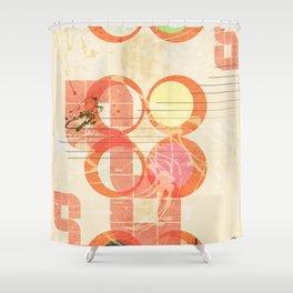 Abstract geometric art Shower Curtain
