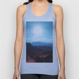Mountain landscape II Unisex Tank Top