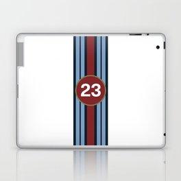 racing stripe .. #23 Laptop & iPad Skin