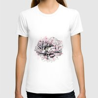 peony T-shirts featuring Peony  by EllaJohnston Art & Illustration
