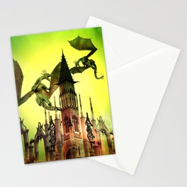 Flying dragon  Stationery Cards