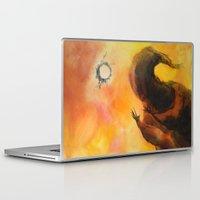 wizard Laptop & iPad Skins featuring Wizard 1 by MassiveTrain
