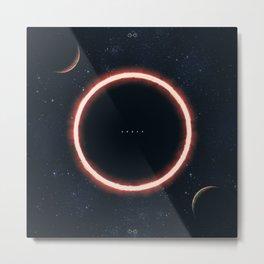 Ender Eclipse Metal Print
