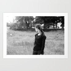 Girl2 Art Print