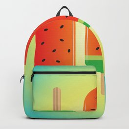 Watermelon Ice Lollies Backpack