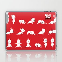 Yoga Bear - Polar Bear Laptop & iPad Skin
