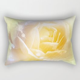 Beautiful yellow rose Rectangular Pillow