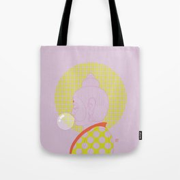 Buddha : Concentrate on the Void! (PopArtVersion) Tote Bag