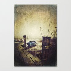 Rugged fisherman Canvas Print