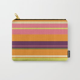 Miami Stripes Carry-All Pouch