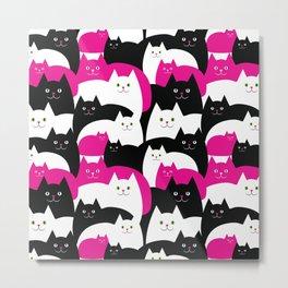 Fat Cats Metal Print