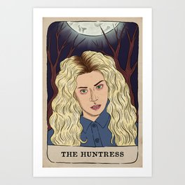 Helena Tarot Card Art Print