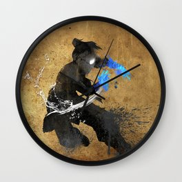 Get Bent :: Water Wall Clock