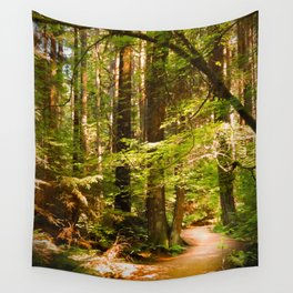 Golden Curves Wall Tapestry