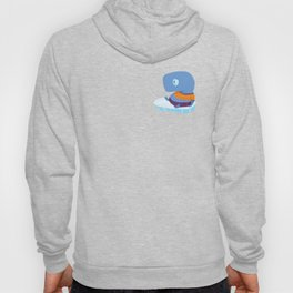Mopi, the Whale Detective, Adrift at the North Pole Hoody
