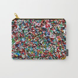 Pop of Color - Seattle Gum Wall Carry-All Pouch
