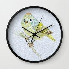 kinglet look on Wall Clock