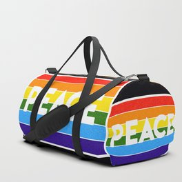 rainbow peace Duffle Bag