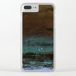 Nameless Places Edit Clear iPhone Case