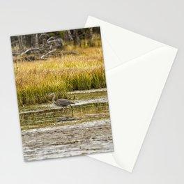 Heron on Snake River No. 2 - Grand Tetons Stationery Cards