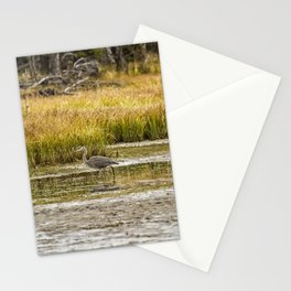 Heron on Snake River No. 2 - Grand Tetons Stationery Cards