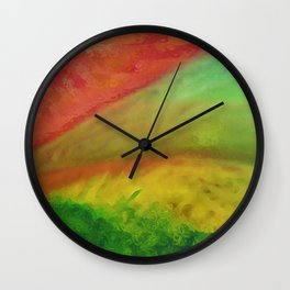 Bright Hills Wall Clock