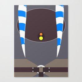 Ahsoka Tano Minimalist Canvas Print