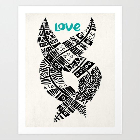 United Love Art Print