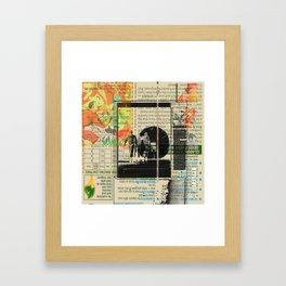 Rauschenberg Rumble (for Hip Kidds) Framed Art Print