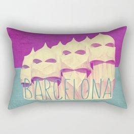 Barcelona Gaudi Paradise Rectangular Pillow