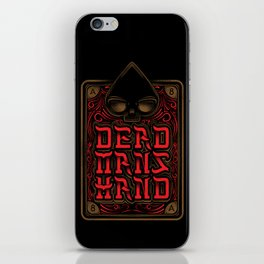 Dead Mans Hand iPhone Skin
