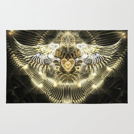 Gold Wings Rug