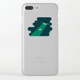 UFO Clear iPhone Case