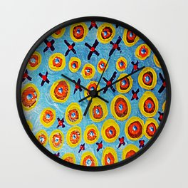 Hugs and Kisses... Wall Clock