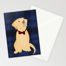 Best Friend Labrador Puppy In A Bow Tie Stationery Cards