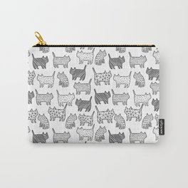 Pattern cats Carry-All Pouch