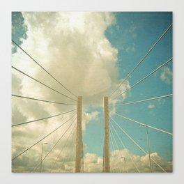 Over the Bridge Canvas Print
