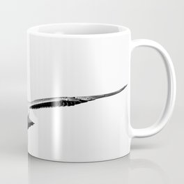 Gentle look in eyes of young seagull Coffee Mug
