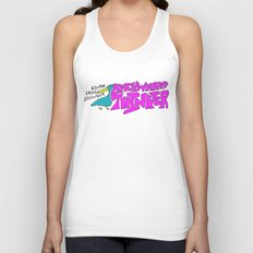Never Look Back Unisex Tank Top
