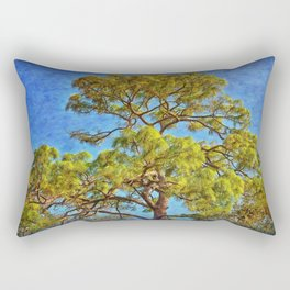 Pine Tree Rectangular Pillow