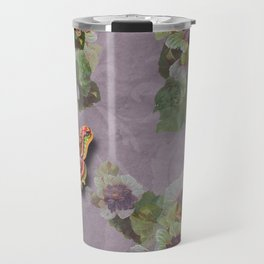 papillon en purple haze Travel Mug