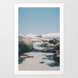 """Boulders beach"" | Cape town travel photography Art Print"